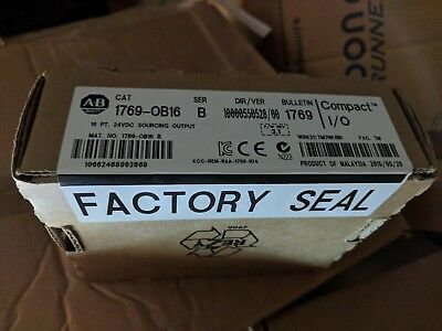Allen Bradley 1769-OB16 Compact logix output card, New in box.
