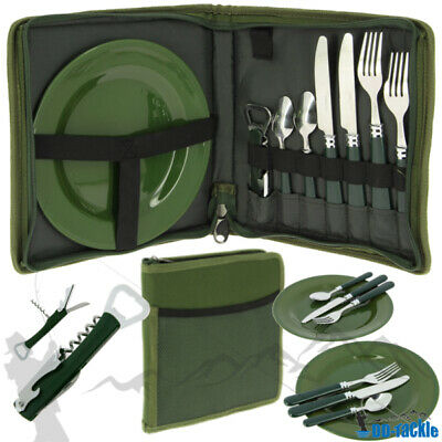 XL Foodbag Set 2 Personen Sessionbag Bestecktasche Dinner Essentasche Camping