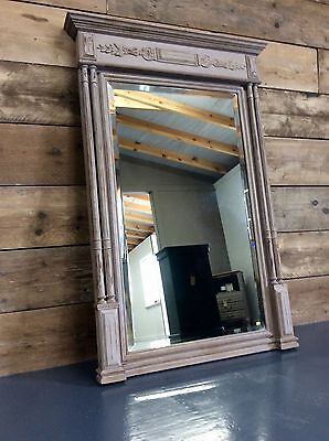 Vintage French Hand Painted Mirror
