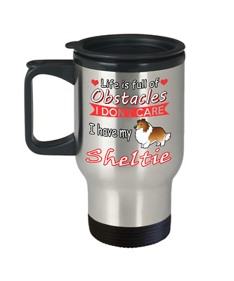 SHELTIE DOG, Travel Mug