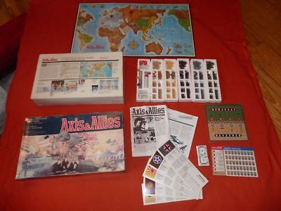 Axis & Allies MB Gamemaster Series Ausgabe 1987 Strategie World War II
