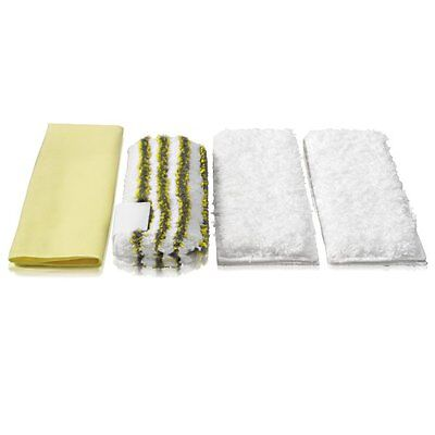 GENUINE KARCHER Pk4 Steam & Clean Bathroom Cloth Set (2863171 2.863-171.0)