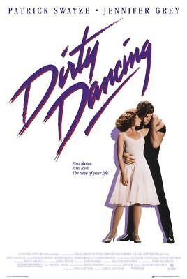 DIRTY DANCING - MOVIE POSTER 24x36 - 3533