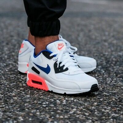0ea1777477 NIKE AIR MAX 90 ESSENTIAL Ultramarine - Solar Red MEN'S LIFESTYLE COMFY  SNEAKER