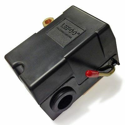 Replacement Air Compressor Pressure Switch, Lefoo LF10-L1, 1 port, 125 PSI