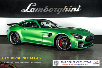 2018 Mercedes-Benz AMG GT R Base Coupe 2-Door CONVENIENCE+AMG WHEELS+CARBON FIBER+DISTRONIC+NAV+RR CAM+BURMESTER