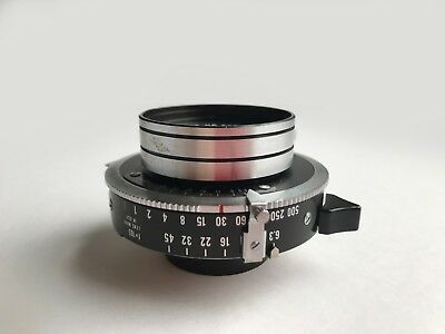 Ilex Acutar 165mm f/6.3 Lens for 4x5 Large Format No. 0