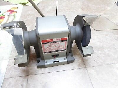 Amazing Vintage Sears Craftsman 1 2 Hp Bench Grinder Model 397 19340 Gmtry Best Dining Table And Chair Ideas Images Gmtryco