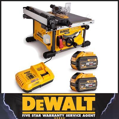 DeWalt Recon DCS7485X2 18/54Volt Table Saw With 1 x Charger & 2 x 54V Batteries