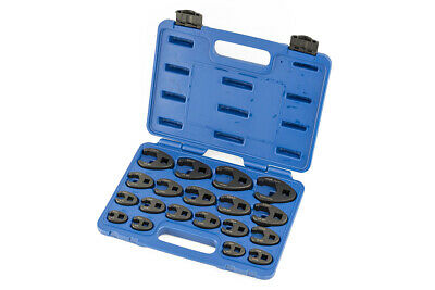 "A-6900A 19pc Metric Crowfoot Wrench Set 8-32mm 3/8"" 1/2"" Sq Dr Large Crows Foot"