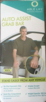 Able Life Auto Assist Grab Bar - Vehicle Support Handle & Standing Mobility Aid