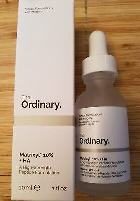 THE ORDINARY Matrixyl 10% + HA -High Strength Peptide Serum Full size (30ml/1oz)