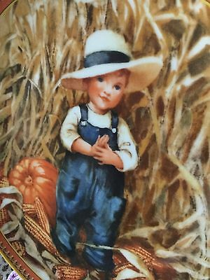 Jessie Willcox Smith Thanksgiving Holiday Memories Knowles Plate 1986 2nd Issue