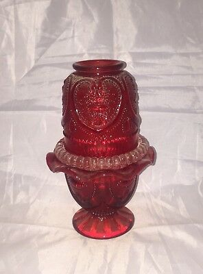 Mosser Ruby Sweetheart Fairy Lamp