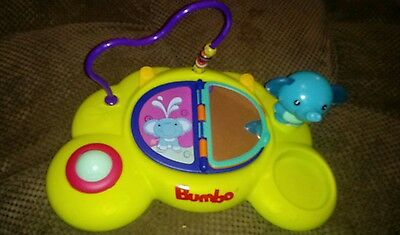 Bumbo Playtop Safari Activity Center - Seat Chair Toy / EUC