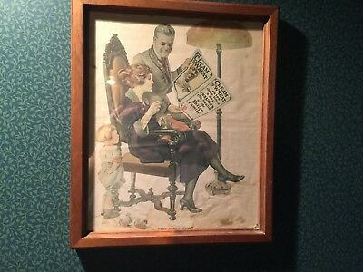 """Vintage Orginal Cream of Wheat Ad 1922 """"The Best Policy"""" by Edward V. Brewer"""