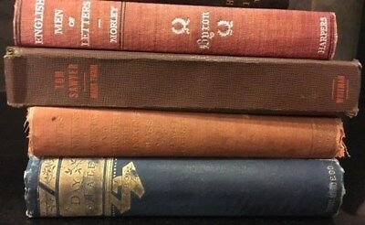 Lot of 4 Antique Collectible Vintage Old Rare Hard To Find Books MIXED 1880-1944
