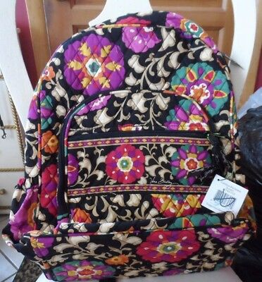 Vera Bradley Campus backpack  in Suzani pattern   #1