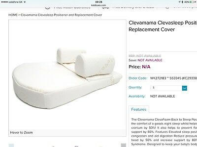 Clevamama Clevasleep Replacement Cover - RRP £10.99 - Cheapest Price On The Net