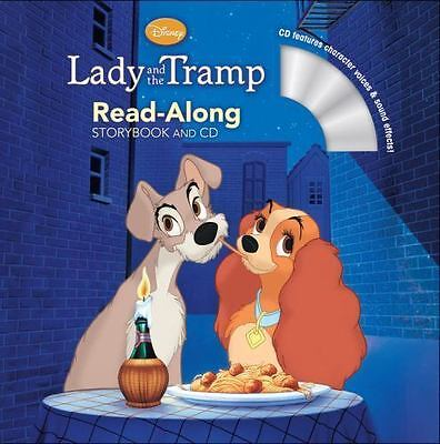 Lady and the Tramp Read-Along Storybook and CD by Disney Book Group in Used - L