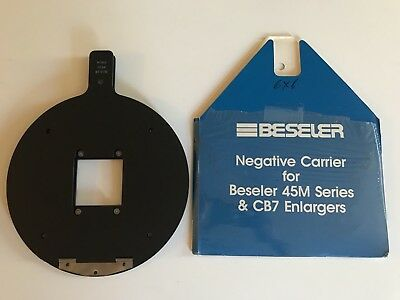 Beseler 6x6cm #8312 - Glassless Negative Carrier for 45 and 810 Series Enlargers