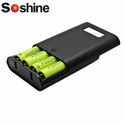 Soshine E3S LCD Display Replaceable Battery Charger For 4 PCS 16850 Battery GL