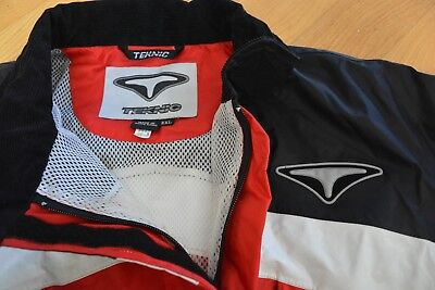 TEKNIC One Piece Motorcycle Racing Riding Suit Red & Black XXL