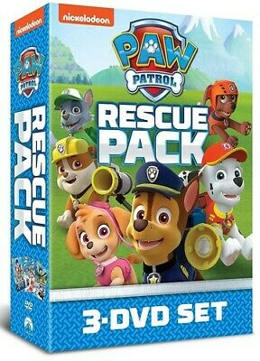 Paw Patrol Rescue Pack - 3 DISC SET (REGION 1 DVD New)