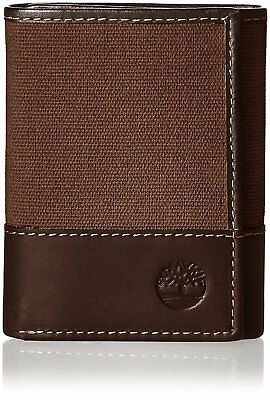 Timberland Men's Baseline Canvas Trifold Wallet