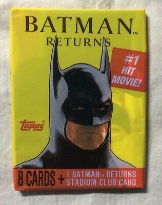 Batman Returns single card pack (Topps, 1991)