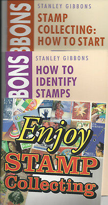 Stanley Gibbons Stamp Collecting Booklets: 3 Booklets Collection