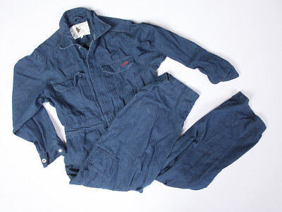Rosie's Workwear for Women Indigo Denim Coveralls Size Petite Small