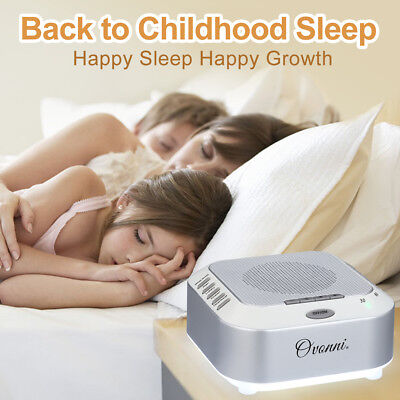 Sound Machine Sleep White Noise Therapy Relax Soothe Sleepless Nights 5 Sound