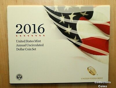 2016 Mint Annual Dollar Sets wBurnished Silver Eagle