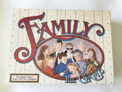 Family : The Board Game - Vintage 1990 - VGC - Rare -