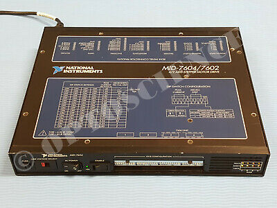 National Instruments MID-7604 4-Axis Stepper Motor Drive, NI Motion Driver