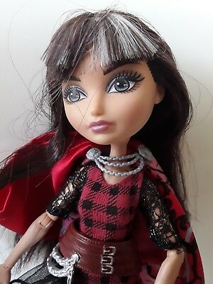 Ever after high Cerise Hood doll very good used condition