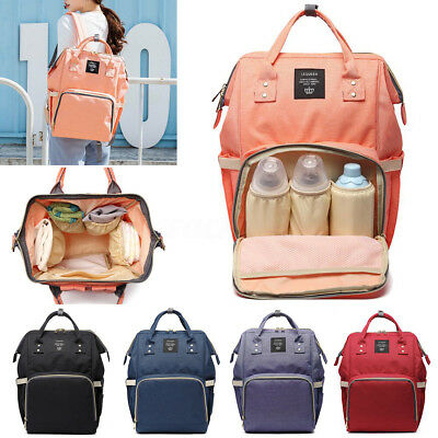 AU Nappy Diaper Backpack Mummy Changing Bag Maternity Bag Large Baby Bags NEW
