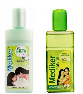 Mediker Anti Lice Treatment Shampoo Oil With *Coconut*Neem 50 ML