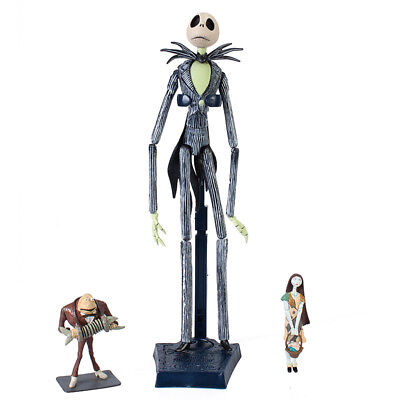 The Nightmare Before Christmas Jack Skellington Figure Toy 15'' In Box Gift Hot