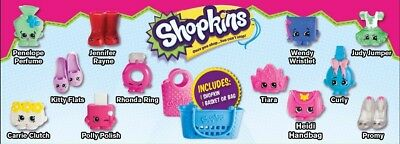 mcdonalds SHOPKINS happy meal NEW SEALED toys NOT COMPLETE from australia