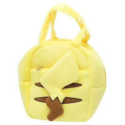 Pokemon Pikachu Charakora Plush Doll Pouch Purse Bag Collectible Anime Maruyoshi