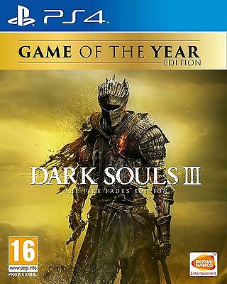 Dark Souls 3 The Fire Fades (PlayStation 4) NEW & Sealed