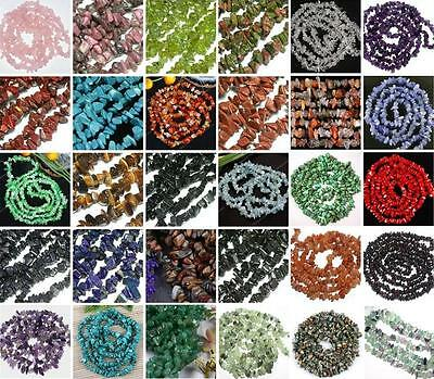 Freeform Natural Gemstone Chips Bead Loose Stone Fit Jewellery Findings Gift DIY