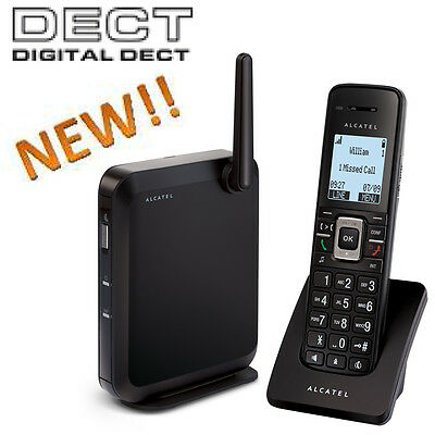ALCATEL Temporis IP2015 IP DECT cordless VoIP phone, PoE, HD Sound, Mailbox