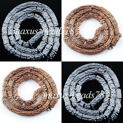 Hematite Gemstone Buckle piece Bead Metallic Color Strand Making Jewelry MBL356