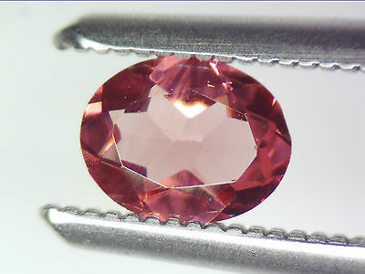 0.32 Ct Natural Purple Rhodolite Garnet Loose Gemstones Oval Cut 5.09 X 4.04 Mm