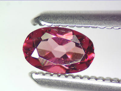 0.26 Ct Natural Purple Rhodolite Garnet Loose Gemstones Oval Cut 4.77 X 3.05 Mm