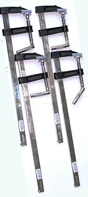 4x F Clamp 50 x 300 Am-Tech Strong Adjustable Brick profile woodworking clamps