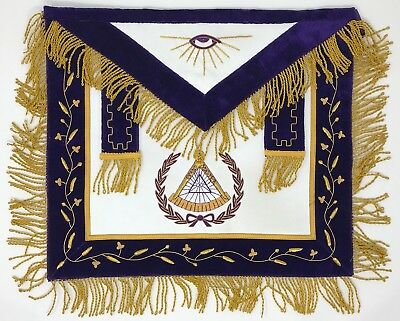 New Freemason Masonic Grand Master Apron